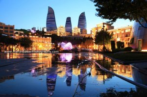 The Flame Towers Baku Azerbaijan Eurovision 2012 Martin Baker Photography