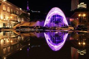 Bahram Fountain TV Tower Baku Azerbaijan Eurovision 2012 Martin Baker Photography