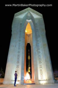 Martyr's Monument (Shahidlar Hiyabany) Baku Azerbaijan Eurovision 2012 Martin Baker Photography
