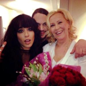 Eurovision Winners - Loreen and Abba's Agnetha - Is this a Eurovision 2013 collaboration?