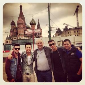 Ireland's Eurovision Representative 2013 - Ryan Dolan in Russia