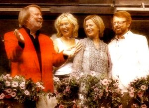 ABBA reunion rumors took another step forward yesterday (Photograph Courtesy of Abbamikory.com)