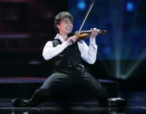 Eurovision Winner 2009 - Alexander Rybak for Eurovision 2015? - Photograph courtesy of Zimbio.com