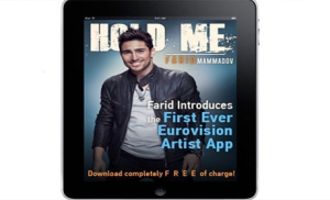 Farid Mammadov Smart Phone App launched. Photograph courtesy of ann.az