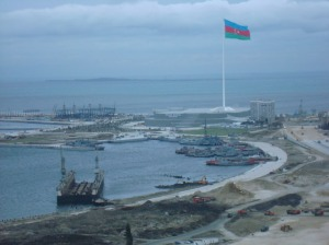 Azerbaijan reconstructed a large part of Baku for Eurovision 2012. (Photograph courtesy of GamesBids)