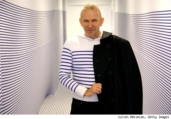Jean Paul Gautier #ALSicebucketchallenge. Photograph courtesy of espritdesing.com