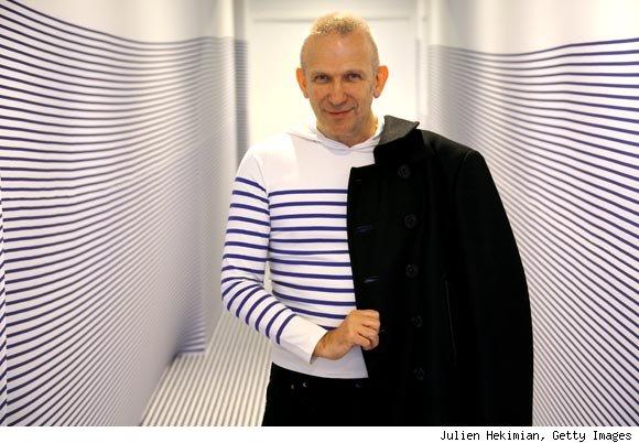 Jean Paul Gautier #ALSicebucketchallenge. Photograph courtesy of espritdesing.com