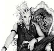 John Galliano - fired from Dior for his anti-Semitic comments - linked to designing Israeli Singers costume for Eurovision. Photograph courtesy of JewishJournal.com