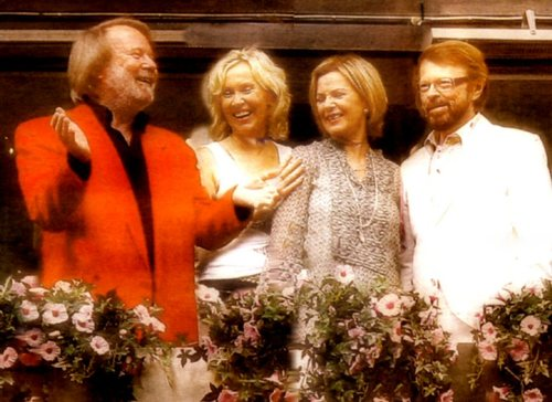 Eurovision Winners ABBA - Photograph courtesy of Wikipedia