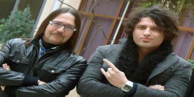 Adrian Lulgjuraj and Bledar Sejko - Albania Eurovision 2013 Representatives. Photograph courtesy of Facebook