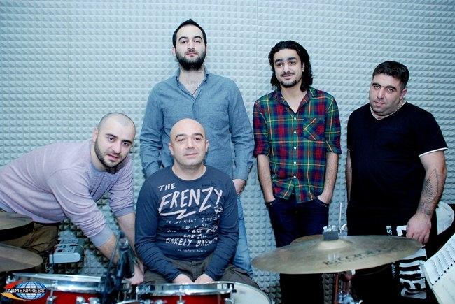 Dorians - Armenia Eurovision Representatives 2013. Photograph courtesy of Facebook