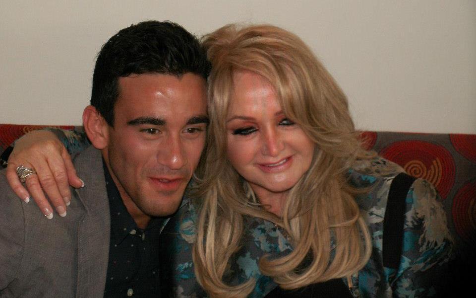 Bonnie Tyler (UK 2013) and Gianluca (Malta 2013) Euroviison Contestants meet Eurovision Ireland