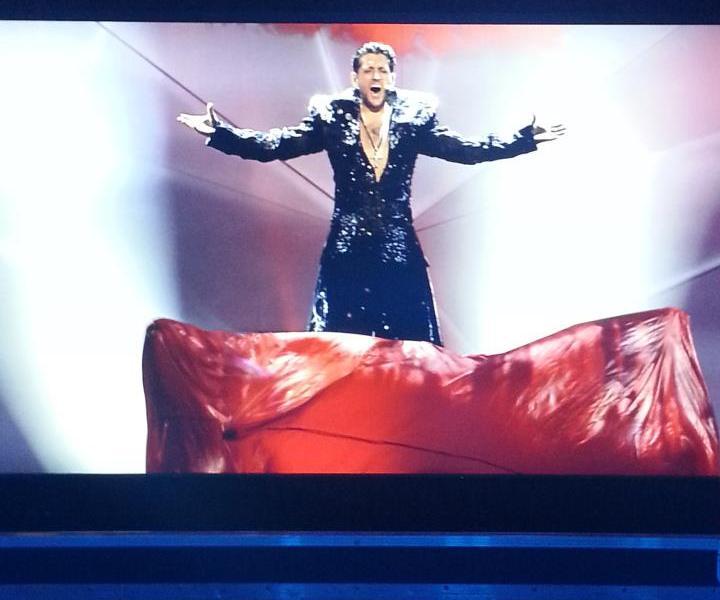 """Cezar - Romanian Eurovision Entrant 2013. Photograph courtesy of """"Cezar - The Voice - Facebook Page"""""""