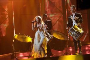 Denmark Eurovision 2013 - First Rehearsal - Photograph courtesy of FaceBook