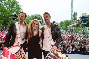 Emmelie de Forest Returns home to Copenhagen after winning the Eurovision Song Contest 2013 to a hero's welcome. Photograph courtesy of demovix.com