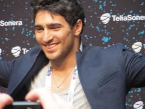 Farid Mammadov - Azerbaijan Eurovision Representative 2013 - Photograph Eurovision Ireland