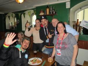 "Eurovision Ireland meet Montenegro's Eurovision 2013 Entrants ""Who See and Nina"""
