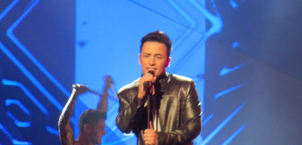 Ryan Dolan - His Second Rehearsal at Eurovision 2013