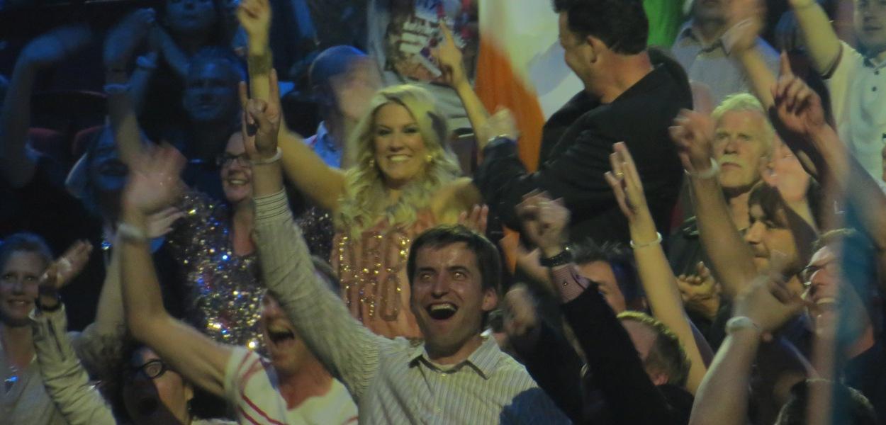 Eurovision 2013 Grand Final First Rehearsal - Photograph Eurovision Ireland