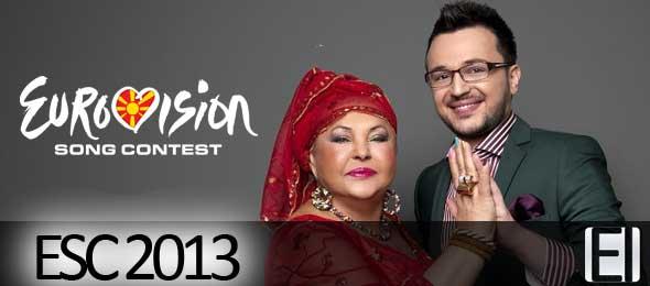 Esma and Lozano - FYR Macedonia Eurovision 2013 Representatives. Photograph courtesy of Facebook