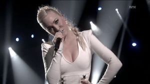 Margaret Berger - Norway's Eurovision Entrant for 2013. Photograph courtesy of YouTube and MGP
