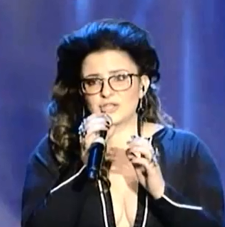 Moran Mazor - Israeli Eurovision Entrant 2013 - Photograph courtesy of YouTube