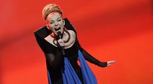 Rona Nishliu - Albanian Eurovision 2012 contestant and winner of the Barbara Dex Award - Photograph courtesy of Eurovoix