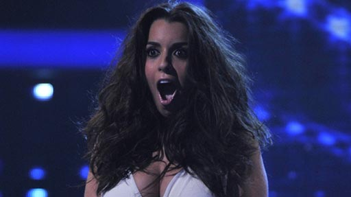 Ruth Lorenzo. Picture courtesy of x-factor.itv.com