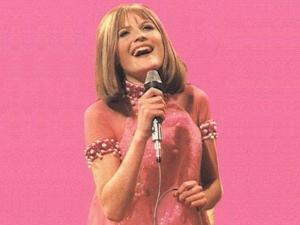 Eurovision Winner 1967 - Sandie Shaw. Photograph courtesy of thelicentiate.com