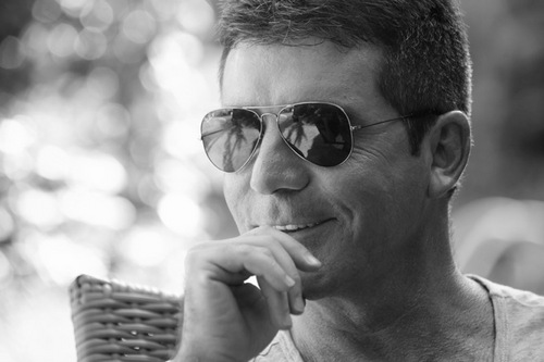 Simon Cowell - Possible UK Eurovision 2014 selector. Photograph courtesy of Twitter