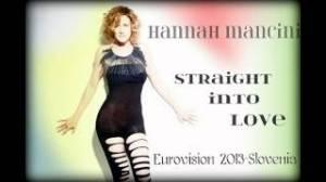 Hannah - Slovenia Eurovision 2013 - First Dress Rehearsal. Photograph courtesy of Facebook