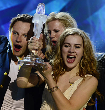 Eurovision Viewing Figures increase for Eurovision 2013 - Photograph Guardian.co.uk
