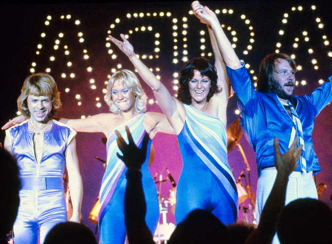 Eurovision Winners ABBA -Photograph courtesy of spyhollywood.com