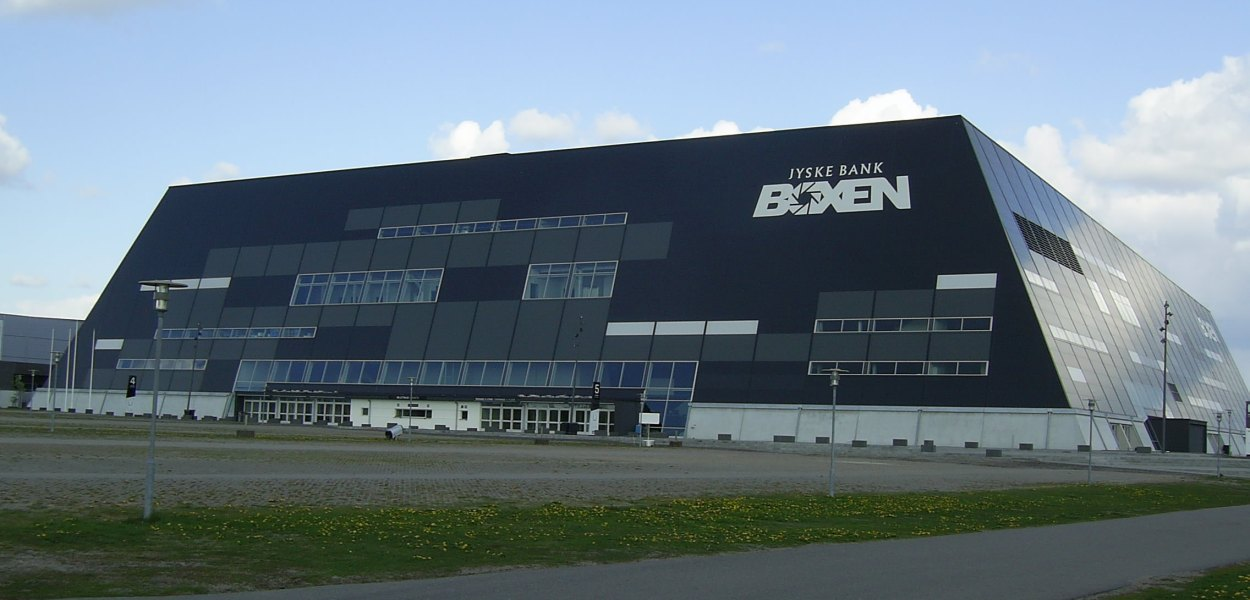 Boxen Stadium in Herning - Possible Eurovision 2014 Venue. Photograph courtesy of Wikipedia