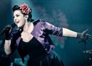 Caro Emerald - Our pick for the Dutch Eurovision Entrant for  2014. Photograph courtesy of www.domoremag.com