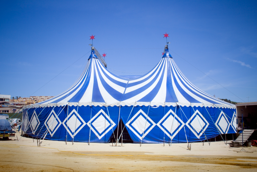 Could Eurovision 2014 be in a tent? Photograph courtesy of Wikimedia
