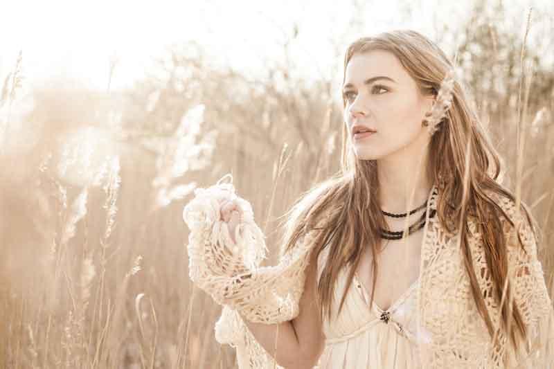 "Eurovision Winner Emmelie De Forest presents her official video for ""Only Teardrops"" - Photograph courteys of lyrics.4eu"