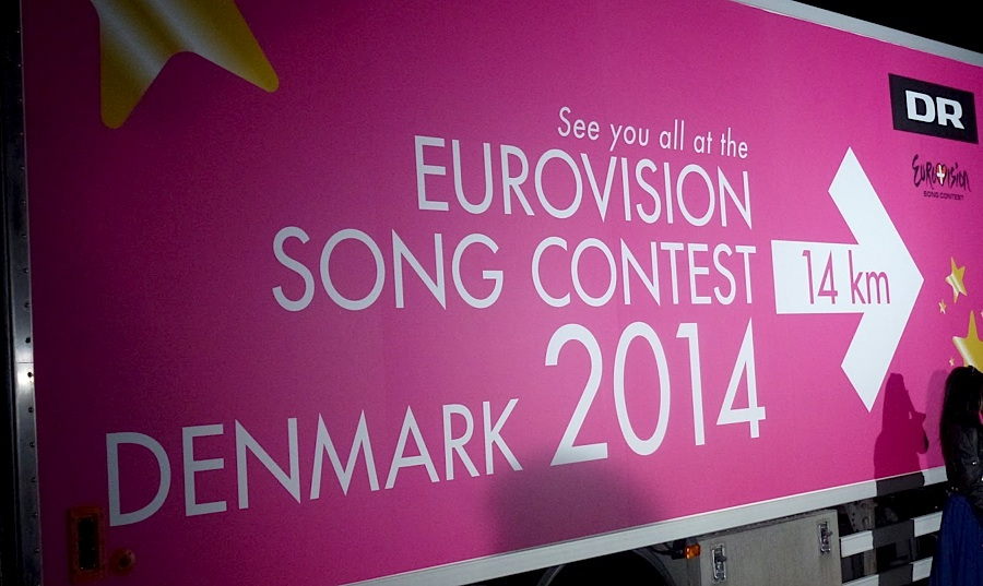 Danish Broadcaster DR come to Dublin for Eurosong 2014. Photograph courtesy of Wikipedia