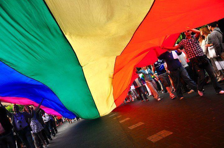 Happy Dublin Gay Pride. Photograph Courtesy of Dublin Pride FaceBook