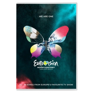 The Official Eurovision 2013 DVD available to buy now on-line. Photograph courtesy of  www.eurovisionshop.tv