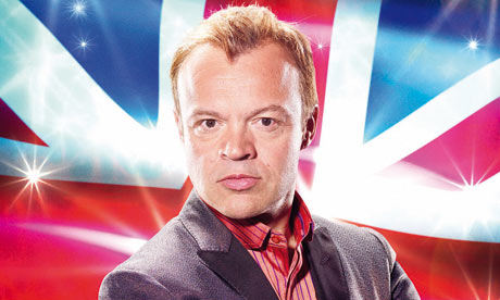 Graham Norton - BBC Presenter/Comedian - On the Search for the UK's Eurovision Act for 2014. Photograph courtesy of Guardian.co.uk