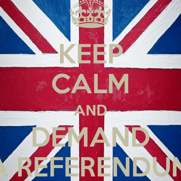 Uk Referendum on Eurovision Participation? Photograph courtesy KeepCalm