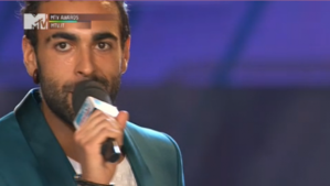 Marco Mengoni wins 2 MTV Italy Awards. Photograph courtesy of soundsblog