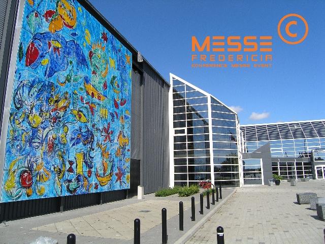 Messe C Stadium in Fredericia - A possible Eurovision 2014 venue. Photograph courtesy of www.denstoredanske.dk