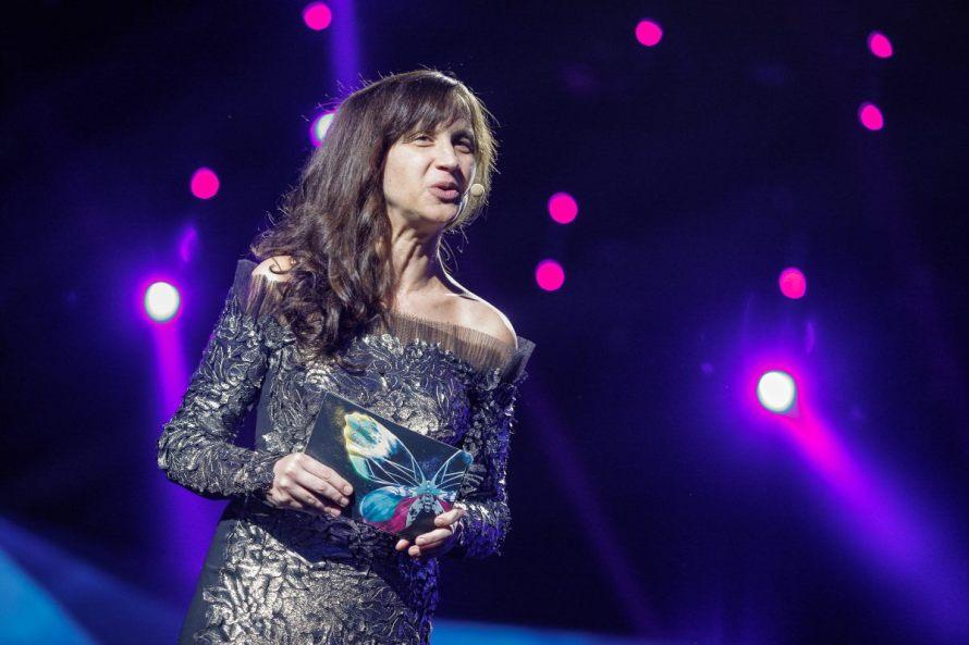 Eurovision 2013 Host Petra Mede. Photograph Courtesy of Blogstop.com