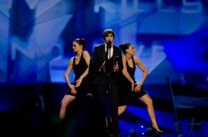 Roberto Bellarosa - Belgian Eurovision Representative 2013. Photograph courtesy of Eurobeatbox