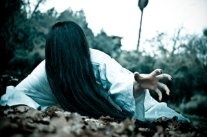 """Sadako From the film """"The Ring"""". Photograph Courtesy of BeyondHollywood.com"""