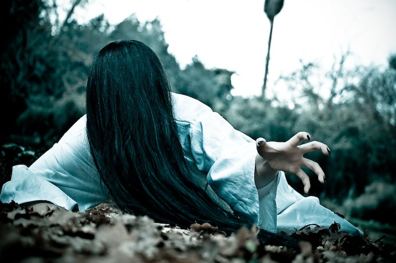 "Sadako From the film ""The Ring"". Photograph Courtesy of BeyondHollywood.com"