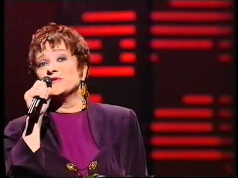 Silvi Vrait - Estonia's first ever Eurovision entrant back in 1994. Photograph courtesy of YouTube.com
