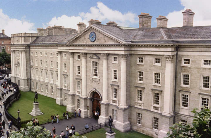 Trinity College Dublin - Free Eurovision Lecture Tonight June 12th. Photograph Courtesy of TCD.ie